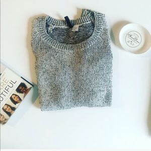 H&M Divided sweater, black/gray size S